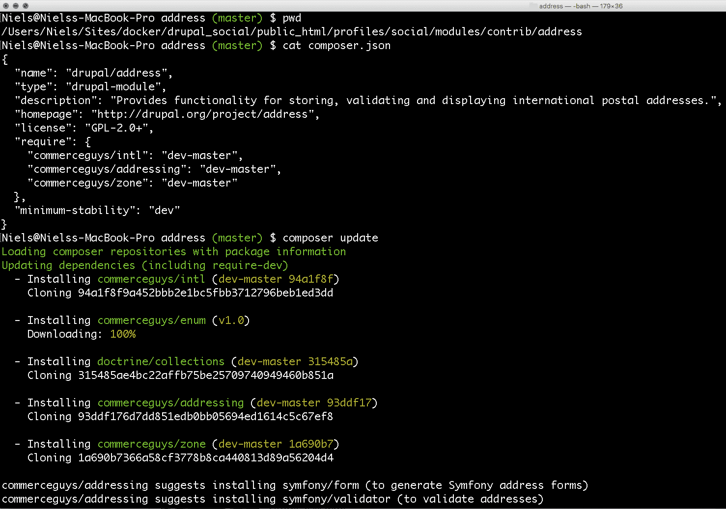 Using Composer with Drupal (8)