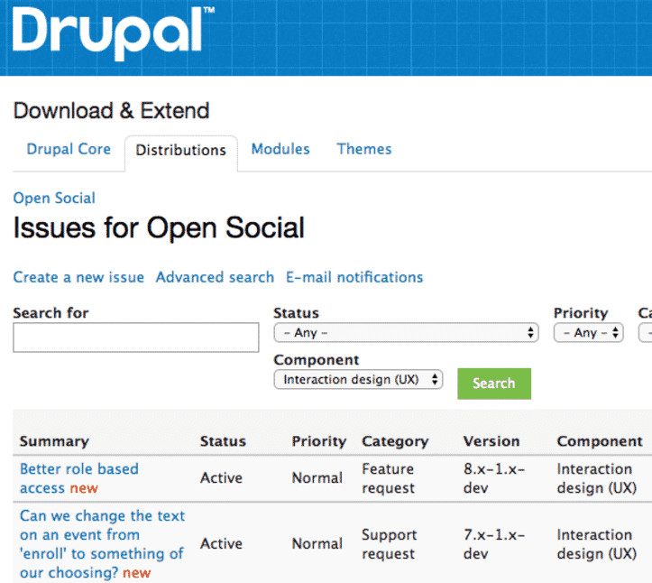 Issues to improve open social