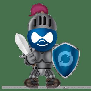 Drupal Security Animation Figure