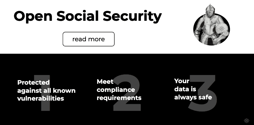 Open Social security overview