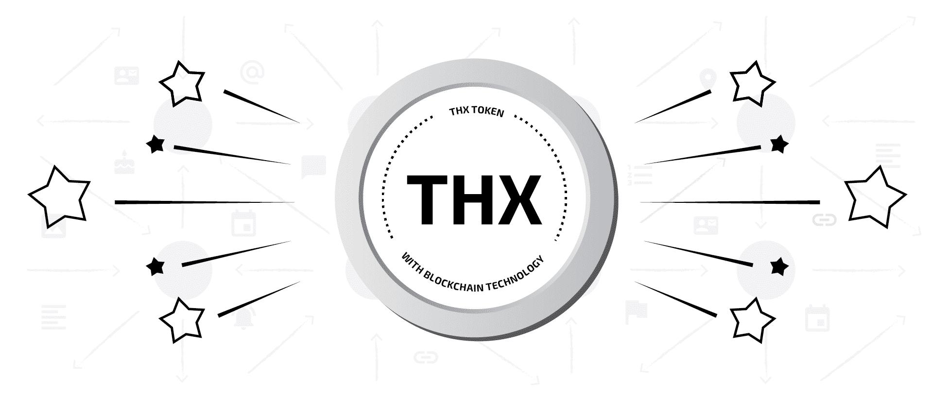 THX Token on the blockchain instead of gamification
