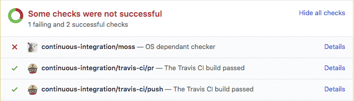 Project Moss is a continuous integration tool for software testing.