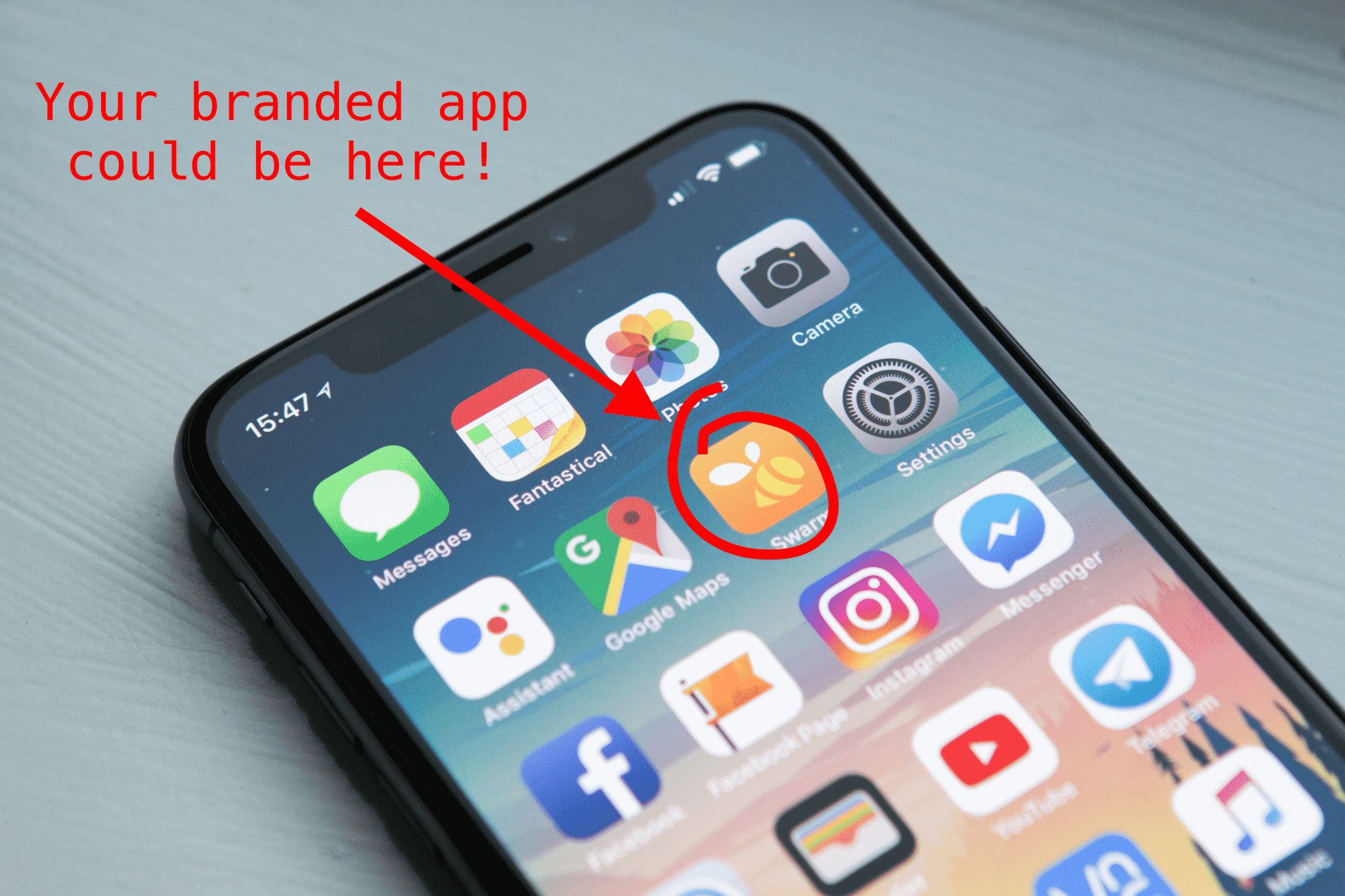 Don't miss out on a branding opportunity - get a native app today!