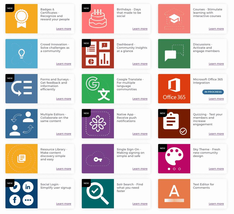 Open Social extension library
