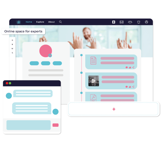 Empower members to connect and share
