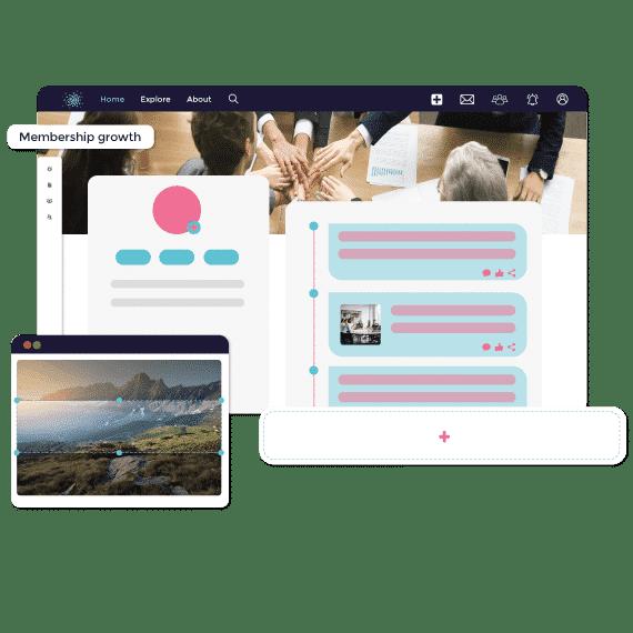 Grow your community management platform