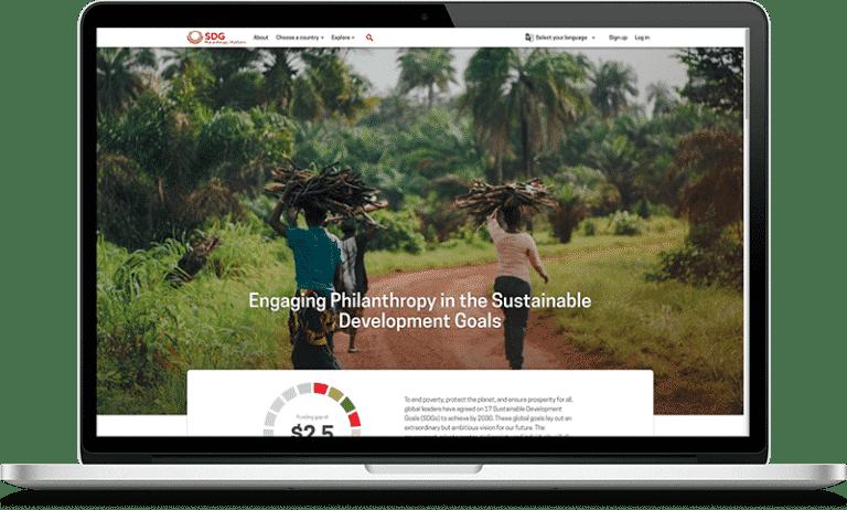 SDG homepage