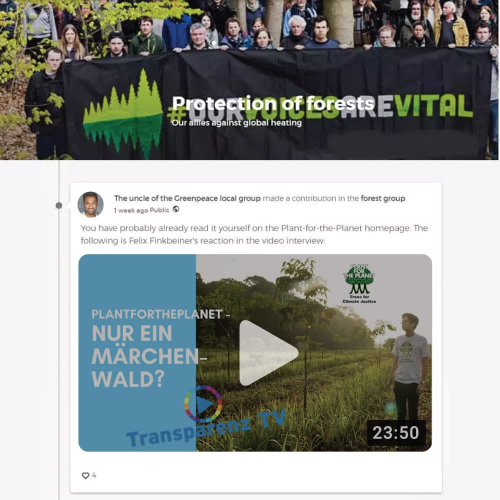 Video Upload extension