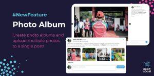 Photo album feature