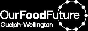 Our Food Future logo white