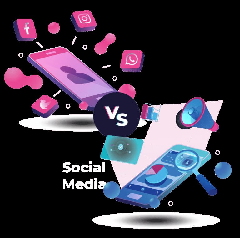Social media vs online community